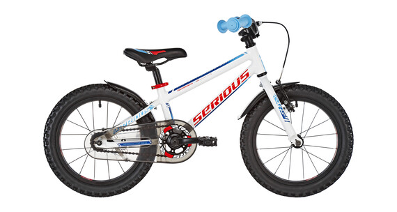 Serious Superhero 16 - Vélo enfant - bleu/blanc